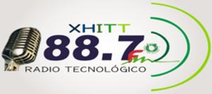 XHITT-FM - Image: XHITT Radio Tecnologico 88.7 logo