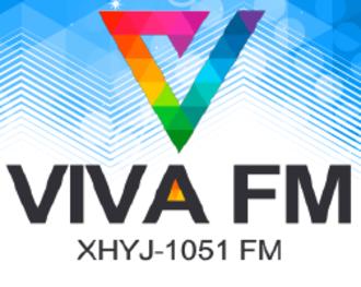XHYJ-FM - Image: XHYJ Viva FM105.1 logo