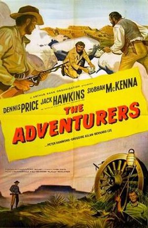 The Adventurers (1951 film) - Original British 1-sheet poster