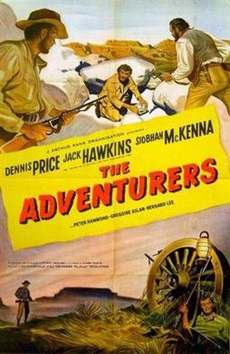 The Adventurers (1951 film) - Original British 1-sheet poster