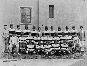 Miami Hurricanes football - The first University of Miami football team, 1926.