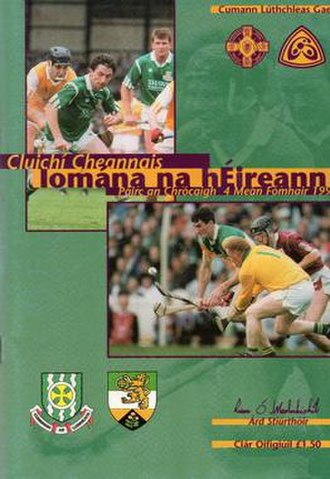1994 All-Ireland Senior Hurling Championship Final - Image: 1994 All Ireland Senior Hurling Championship Final p