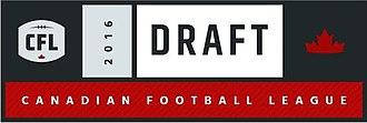 2016 CFL Draft - Image: 2016 CFL Draft Logo