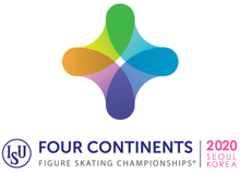 2020 Four Continents Figure Skating Championships logo.png