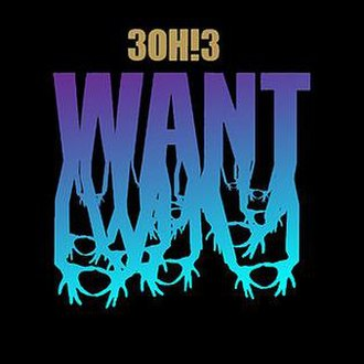 Want (3OH!3 album) - Image: 3OH!3 Want