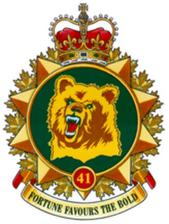 41 Canadian Brigade Group - Image: 41Canadian Brigade Group