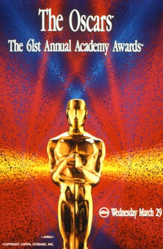 61st Academy Awards - Official poster