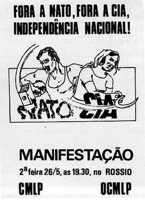 Portuguese Marxist–Leninist Communist Organization - Image: Abril 29