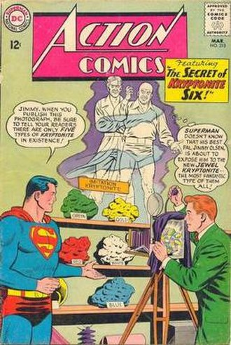 Kryptonite - Image: Action Comics 310