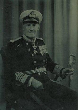 Angus Cunninghame-Graham - Admiral Sir Angus Cunnnghame Graham KBE CB RN