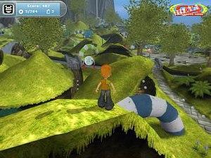 Adventure Rock - Screenshot from open Beta Testing of Adventure Rock