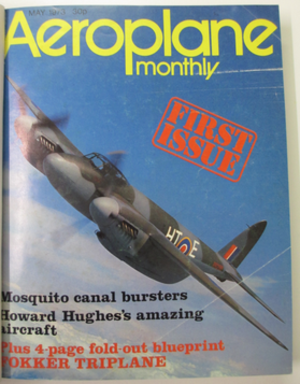 Aeroplane (magazine) - Image: Aeroplane Monthly Issue 1
