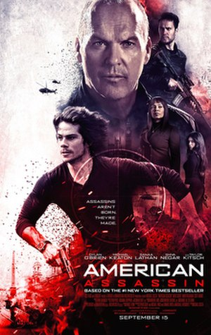 American Assassin - Theatrical release poster