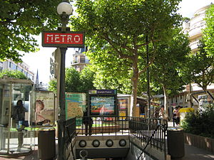 Anatole France entrance 2007