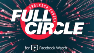 Anderson Cooper Full Circle - Cropped title screen from the show, which is broadcast in a vertical format