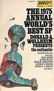 <i>The 1975 Annual Worlds Best SF</i> book by Donald A. Wollheim