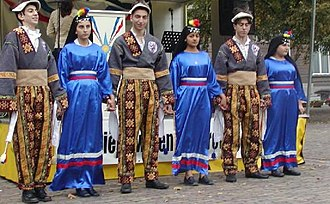 Assyrians in the Netherlands - Traditional dances performed by Assyrians in the Netherlands