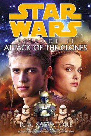 Star Wars: Episode II – Attack of the Clones (novel) - Image: Attackoftheclones novel