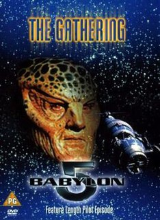 <i>Babylon 5: The Gathering</i> 1993 pilot film of the science fiction television series Babylon 5 directed by Richard Compton