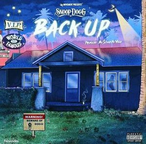 Back Up (Snoop Dogg song) - Image: Back up Snoop Dogg
