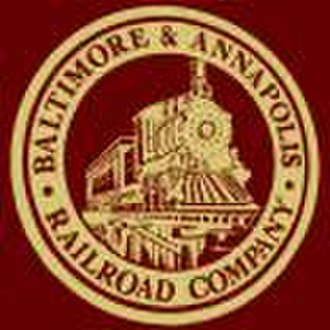 Baltimore and Annapolis Railroad - Image: Baltimore Annapolislogo