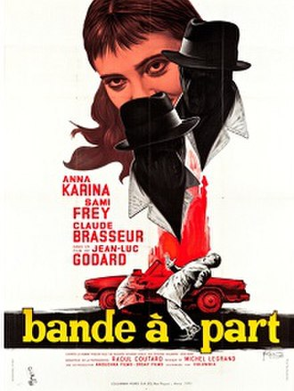 Bande à part (film) - Theatrical release poster