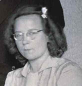 Bep Voskuijl - Bep Voskuijl in 1945