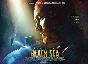 Black Sea (film) - Theatrical release poster