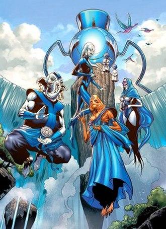 Blue Lantern Corps - Image: Blue Lantern Corps