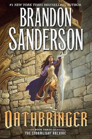 Oathbringer - First edition book cover