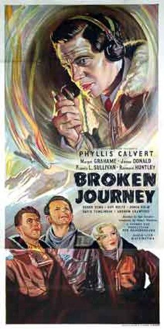 Broken Journey - Theatrical poster