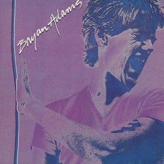 Bryan Adams (album) - Image: Bryan Adams self titled