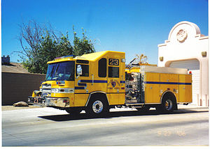 Clark County Fire Department (Nevada) - Clark County FD Engine 23, serving Sunrise Manor