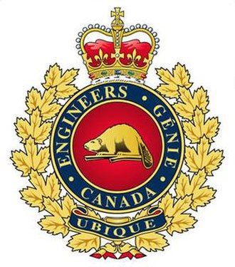 Canadian Military Engineers - The cap badge of the Canadian Military Engineers