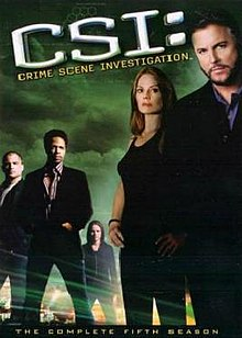 Csi Crime Scene Investigation The Complete 5th Season Jpg