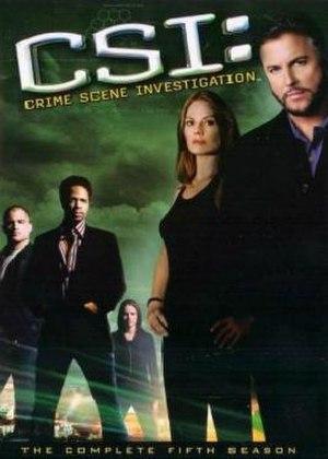 CSI: Crime Scene Investigation (season 5) - Season 5 U.S. DVD cover