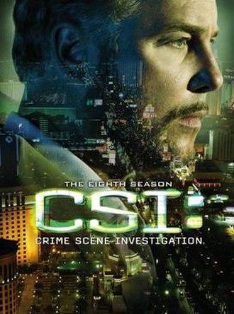 CSI: Crime Scene Investigation (season 8) - Season 8 U.S. DVD cover