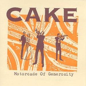 Motorcade of Generosity - Image: Cake Motorcade of Generosity