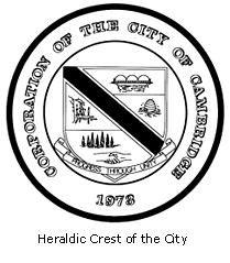 Official seal of Cambridge