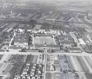 Campbell Barracks - Campbell Barracks, circa 1945