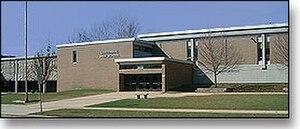 Centennial High School (Champaign, Illinois) - Image: Centennialbuilding
