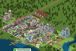 Screenshot from CityVille