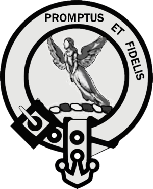 Clan Carruthers - Image: Clan Carruthers Crest