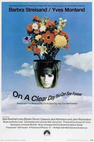 On a Clear Day You Can See Forever (film) - Image: Clear Day Poster