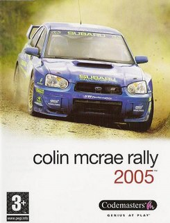 <i>Colin McRae Rally 2005</i> racing video game by Codemasters