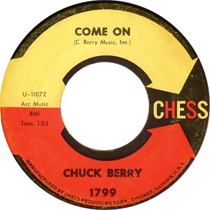 Come On (Chuck Berry song) - Image: Come on cb