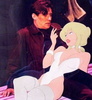 Cool World - Jack and Holli. Reviews were critical of the compositing of animation and live-action.