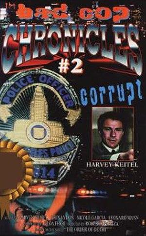 Copkiller - VHS release cover under the alternative title Corrupt