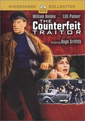 The Counterfeit Traitor - Cover of the DVD