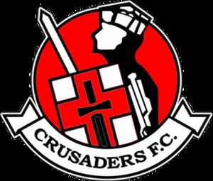 Crusaders F.C. - Image: Crusaders F.C. logo